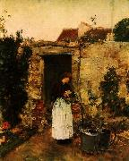 The Garden Door, Childe Hassam
