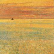 Sunset at Sea, Childe Hassam