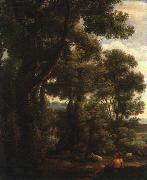 Claude Lorrain Landscape with Goatherd oil painting