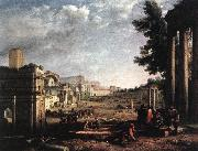 Claude Lorrain The Campo Vaccino, Rome dfg oil painting