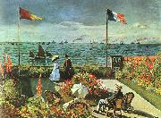Terrace at St Adresse, Claude Monet