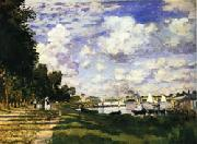 The dock at Argenteuil, Claude Monet