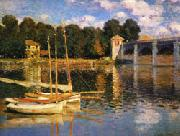 The Bridge at Argenteuil, Claude Monet