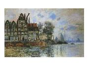 View of Amsterdam, Claude Monet