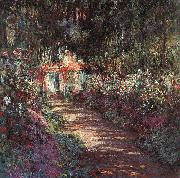 The Garden in Flower, Claude Monet