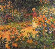 Garden Path at Giverny, Claude Monet