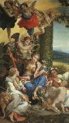 Correggio Allegory of Virtue USA oil painting reproduction