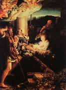 Correggio Adoration of the Shepherds oil painting reproduction