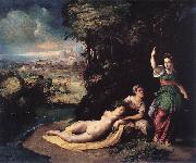 DOSSI, Dosso Diana and Calisto dfhg oil painting reproduction