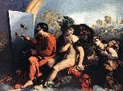 DOSSI, Dosso Jupiter, Mercury and the Virtue df oil painting reproduction