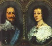 Charles I of England and Henrietta of France dfg, DYCK, Sir Anthony Van