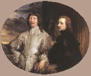 Sir Endymion Porter and the Artist dfh, DYCK, Sir Anthony Van