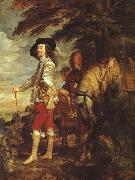 Charles I: King of England at the Hunt drh, DYCK, Sir Anthony Van