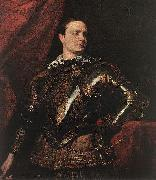 Portrait of a Young General dfgj, DYCK, Sir Anthony Van