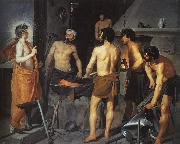 Diego Velazquez The Forge of Vulcan USA oil painting reproduction