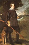 Philip IV as a Hunter, Diego Velazquez