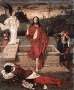 Resurrection, Dieric Bouts