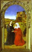 The Visitation., Dieric Bouts