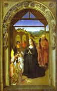 The Adoration of Angels, Dieric Bouts