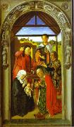 The Adoration of Magi., Dieric Bouts