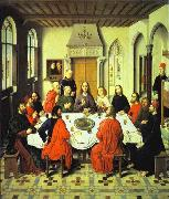 Last Supper central section of an alterpiece, Dieric Bouts