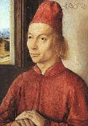 Portrait of a Man, Dieric Bouts