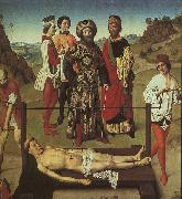 The Martyrdom of St.Erasmus, Dieric Bouts