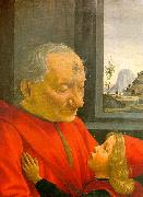 An Old Man and his Grandson, Domenico Ghirlandaio