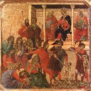 Duccio di Buoninsegna Slaughter of the Innocents USA oil painting reproduction