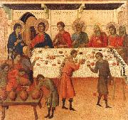 Duccio di Buoninsegna Wedding at Cana USA oil painting reproduction