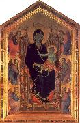 Duccio The Rucellai Madonna USA oil painting reproduction