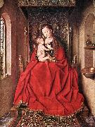Suckling Madonna Enthroned ss
