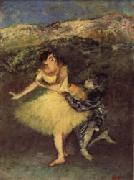 Harlequin and Colombine, Edgar Degas