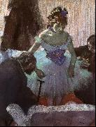 Before the Entrance on Stage, Edgar Degas
