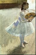 Edgar Degas Dancer with a Fan oil painting