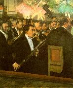 The Orchestra of the Opera, Edgar Degas