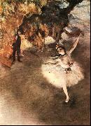 The Star Dancer on Stage, Edgar Degas