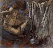 Woman in the Tub, Edgar Degas