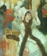 Portrait after a Costume Ball, Edgar Degas