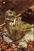 Edgar Degas Avant l'Entree en Scene oil painting reproduction