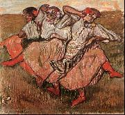 Three Russian Dancers, Edgar Degas