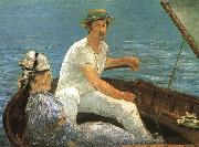 Boating, Edouard Manet