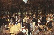 Concert in the Tuileries, Edouard Manet