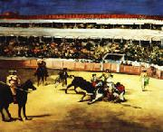 Bullfight, Edouard Manet