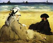 At the Beach, Edouard Manet