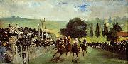Course De Chevaux A Longchamp, Edouard Manet