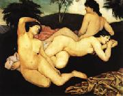 Emile Bernard After the Bath oil painting reproduction