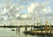 Eugene Boudin Lameuse a Rotterdam USA oil painting reproduction