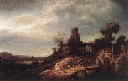 FLINCK, Govert Teunisz. Landscape dg oil painting