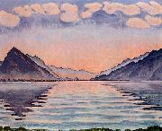 Ferdinand Hodler Lake Thun oil painting